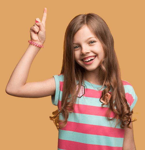 ילדה שואלת על מרתון אסטרטגיות למידה